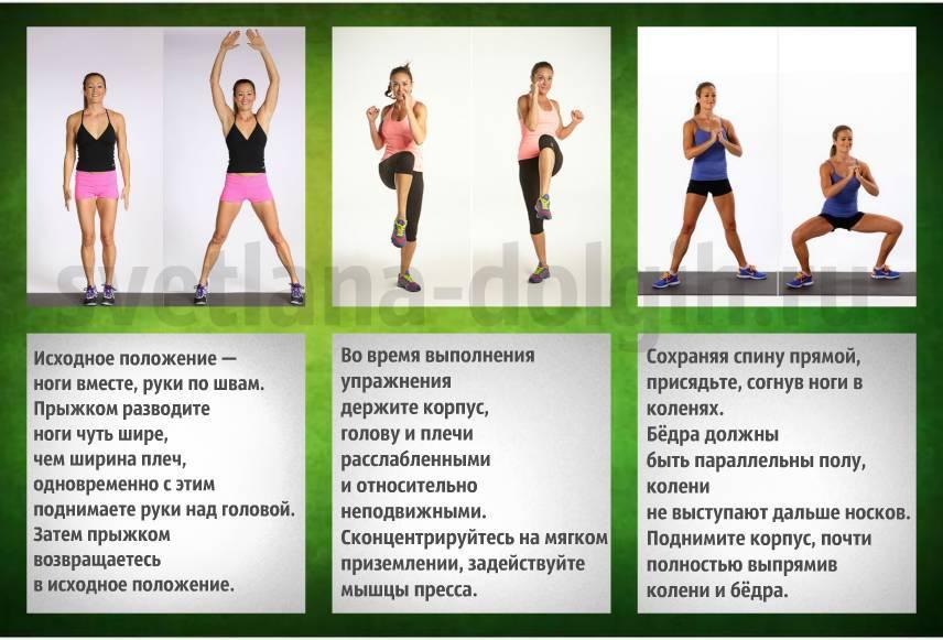 Табата жиросжигающая тренировка: комплекс упражнений   бомба тело
