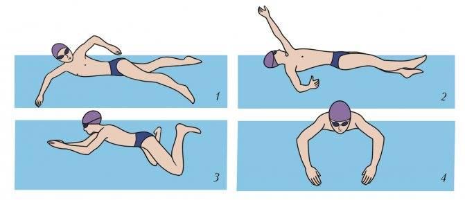 Брасс на спине – непопулярный, но полезный стиль плавания