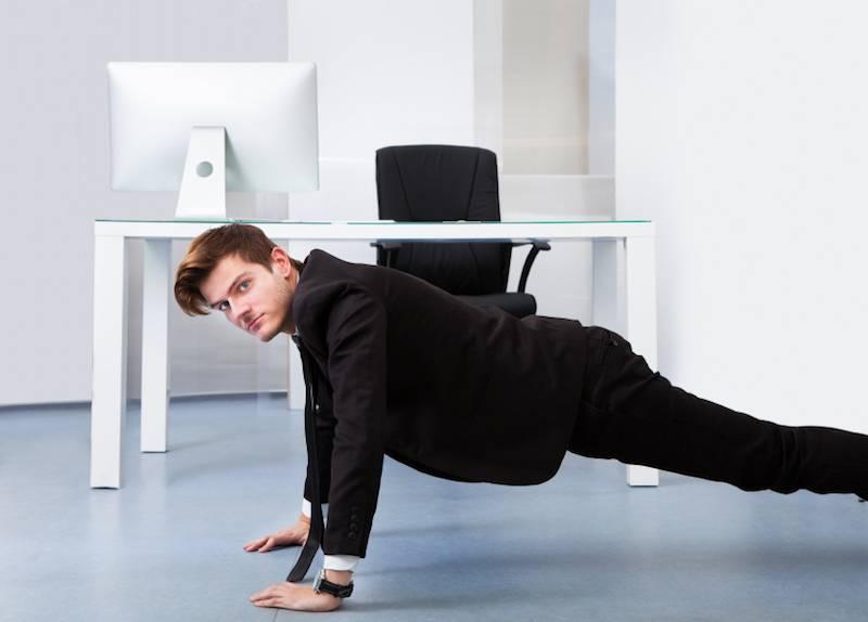 Производственная гимнастика (физкультура) для офисных работников: комплекс упражнений, зарядка на рабочем месте