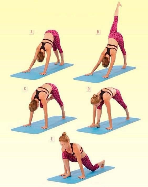 Упражнения на гибкость на все группы мышц в домашних условиях для девушек