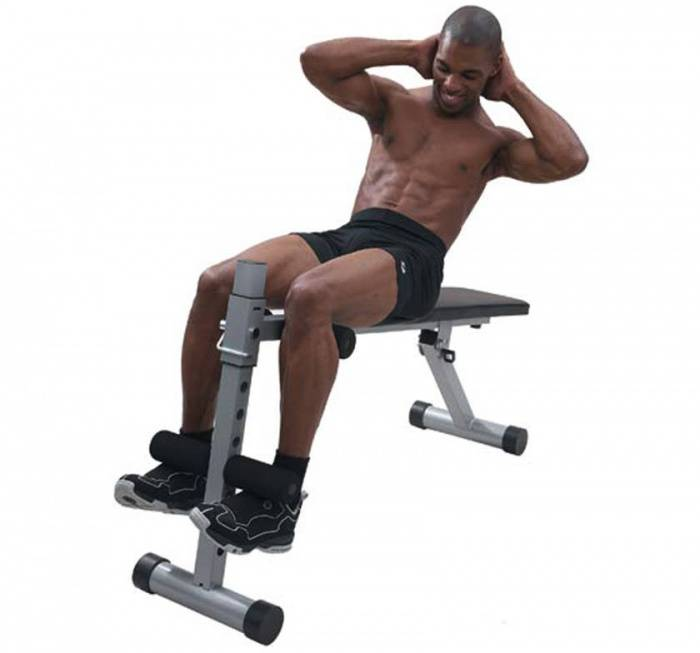 Скручивания на римском стуле: техника упражнения, фото и видео