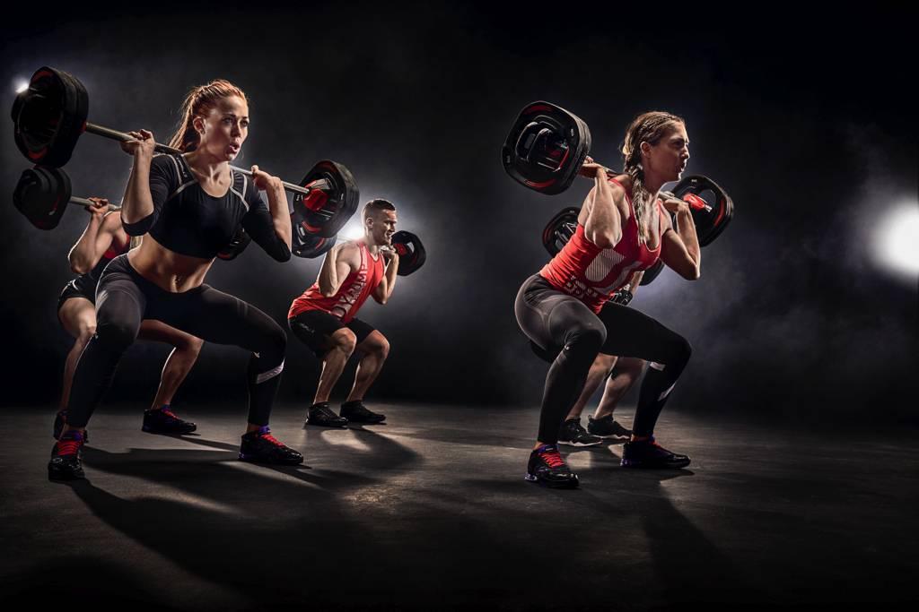 Упражнения для тренировки body pump