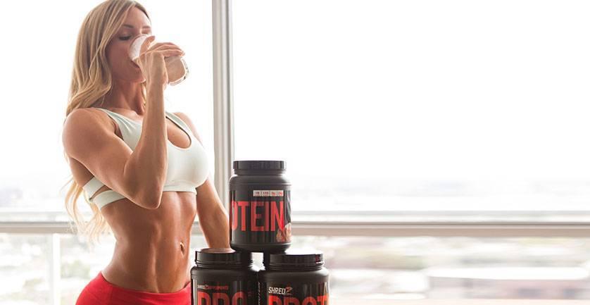 Как пить протеин для похудения девушкам: советы