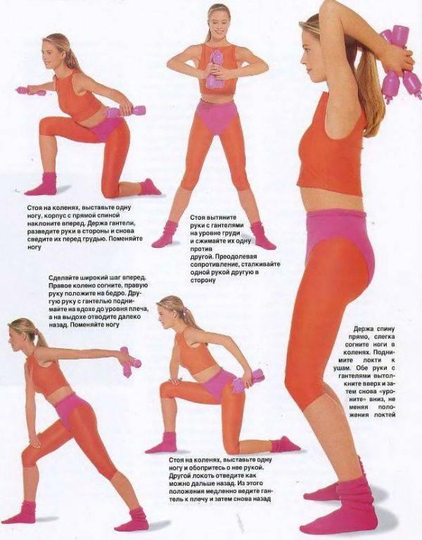 Эффективные упражнения для увеличения женской груди