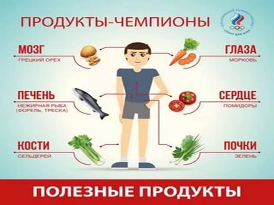 Какие продукты питания полезны для почек? - medical insider