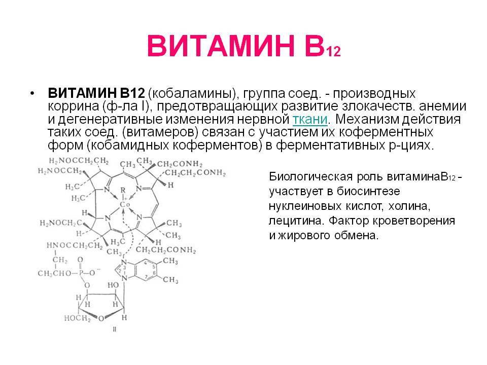 Цианокобаламин (витамин в12) в спорте: как принимать, дозировка