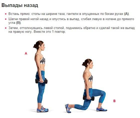 Особенности выполнения выпадов со штангой на плечах