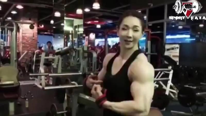 Корейская Барби-качек – бодибилдерша Йон Ву Джи
