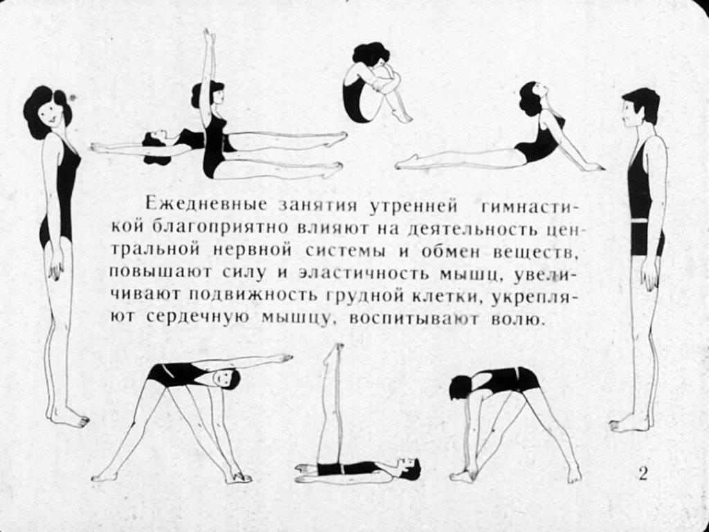 Утренняя зарядка для мужчин: комплекс упражнений