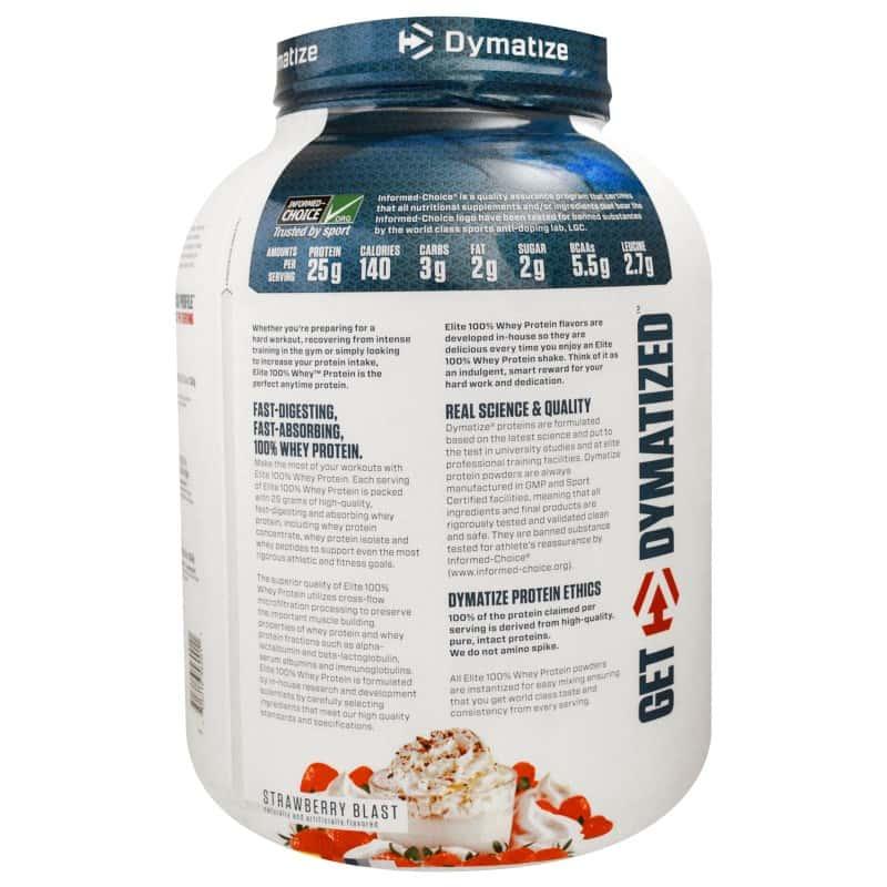 Elite 100% whey protein  930 гр - 2lb (dymatize)