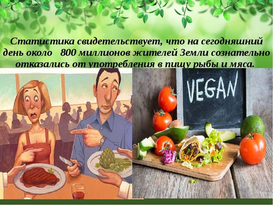 Почему выбирают образ жизни вегетарианство