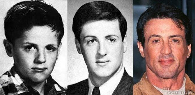 Сильвестр сталлоне в молодости: фото, тогда и сейчас, биография © начало 2000-х ностальгия