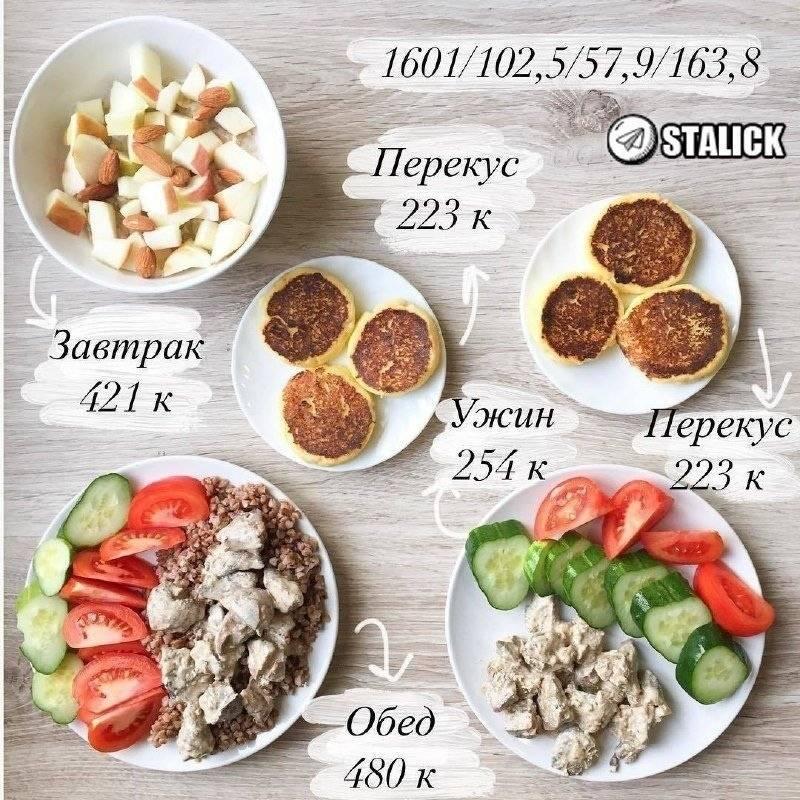 Меню на 1500 калорий в день: пп рацион питания на ккал для женщин и мужчин - как быстро похудеть?