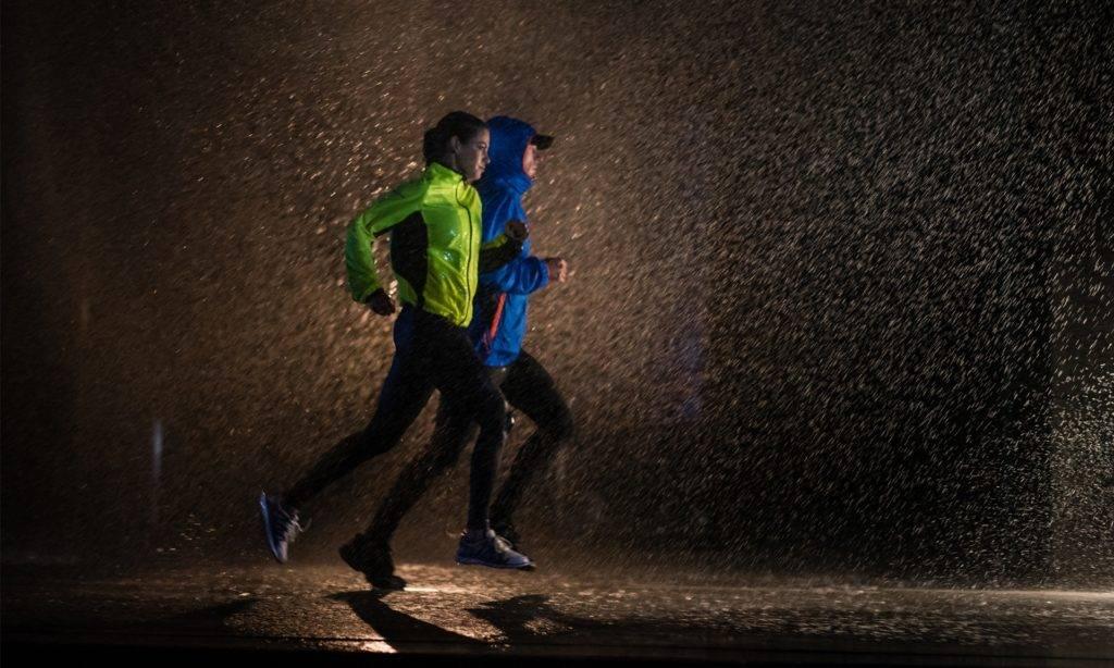 Как бегать в дождь?