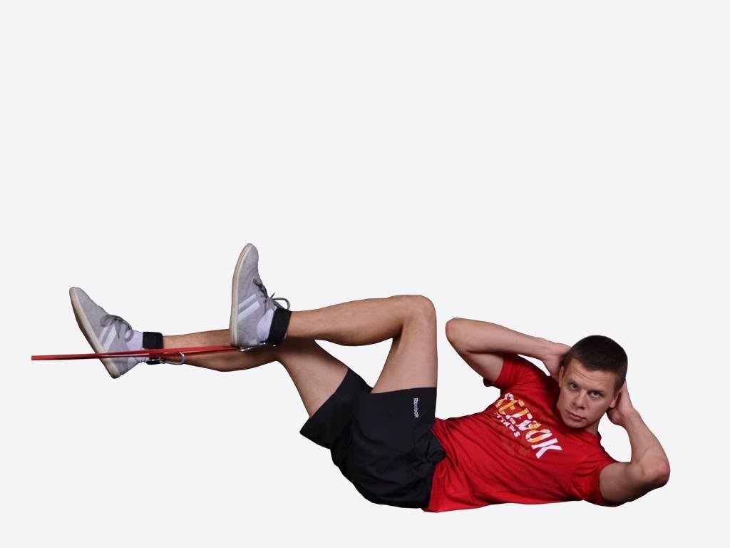 Упражнения с резинками для мужчин —программа на все мышцы тела