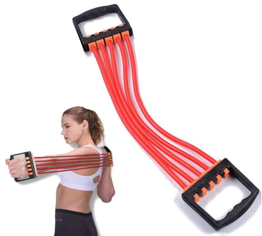 Эспандер пружинный: комплекс упражнений для мужчин и женщин с плечевым тренажером
