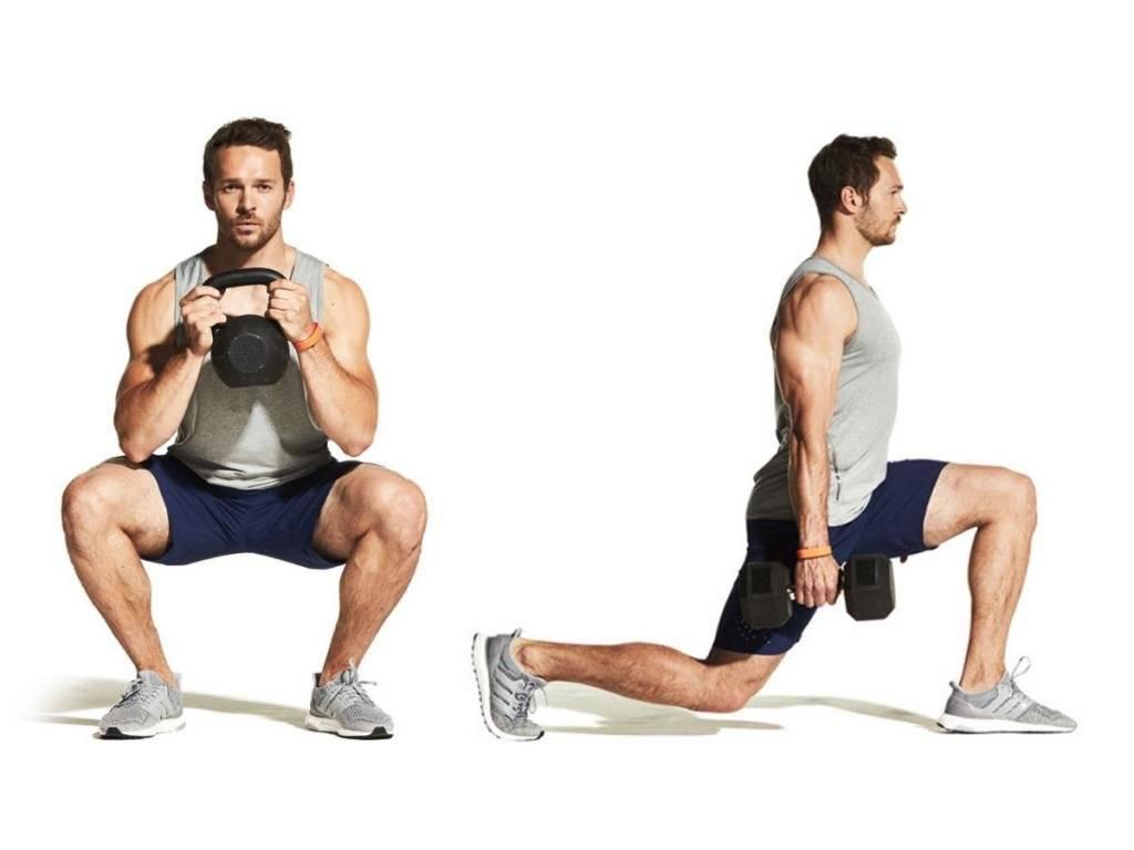 Как правильно накачать ноги: тренировка на бёдра