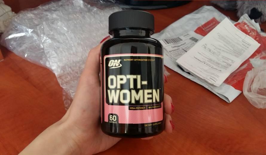 Opti-women от optimum nutrition: описание, состав, характеристика