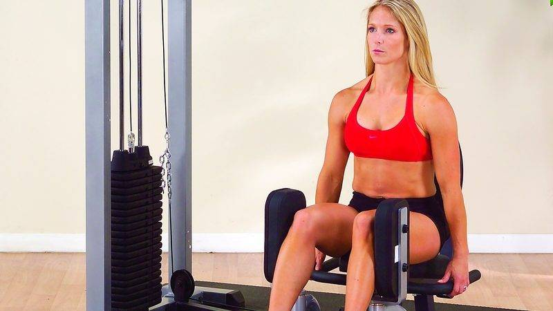 Упражнение сведение и разведение ног - спорт и питание