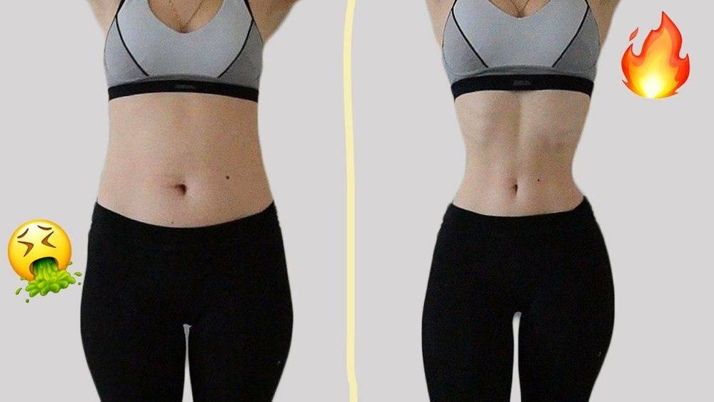 Как похудеть в талии на 10 см? быстро похудеть в талии и животе поможет данная диета