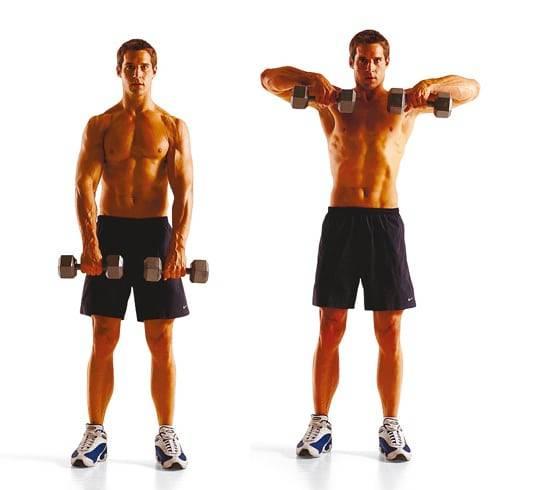 Тяга штанги к подбородку, польза упражнения, разновидности, проблемы