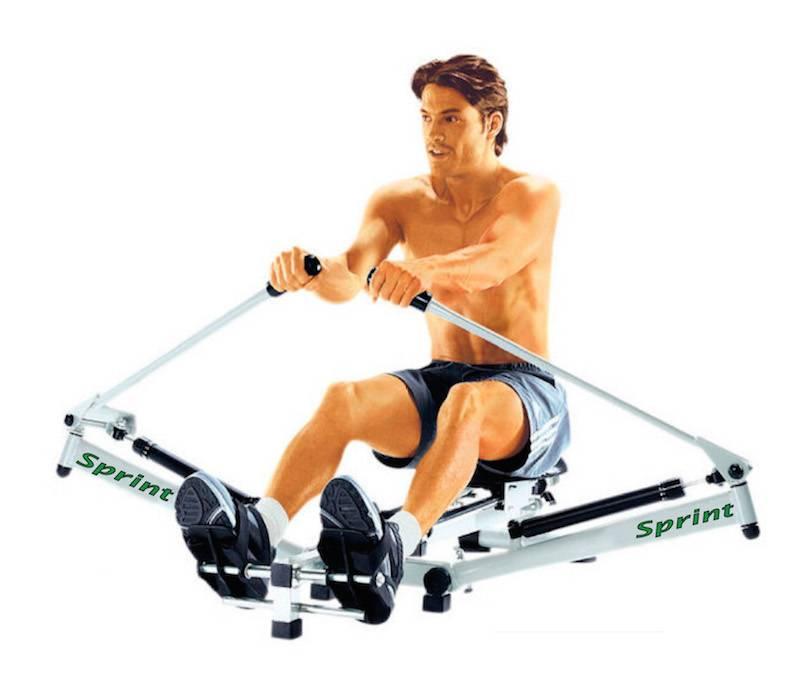 """Занятия на гребном тренажёре: какие мышцы работают и рекомендации к упражнениям """"гребля"""""""