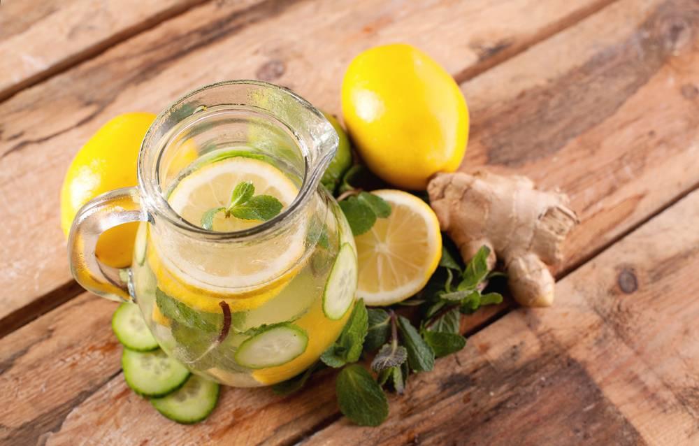 Вода с лимоном для похудения: рецепты приготовления