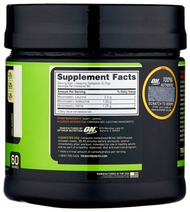Bcaa 1000 400 капс (optimum nutrition)