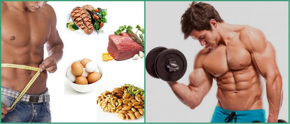 Как сжечь жир и набрать мышечную массу питанием