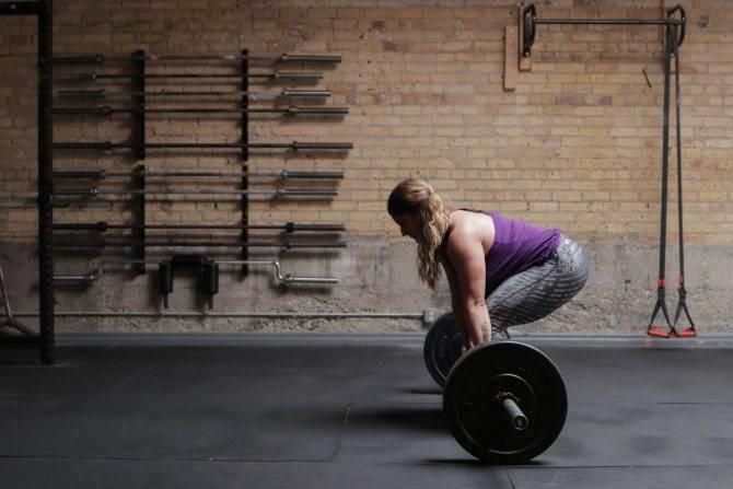 Становая тяга сумо техника