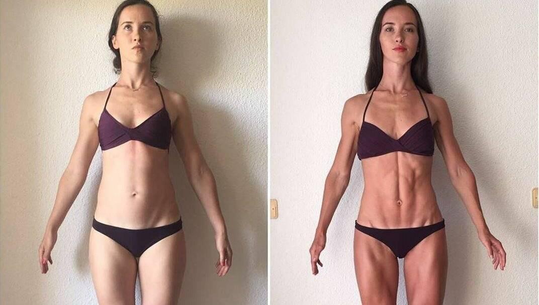 Как сделать тело более рельефным — сушка для девушек
