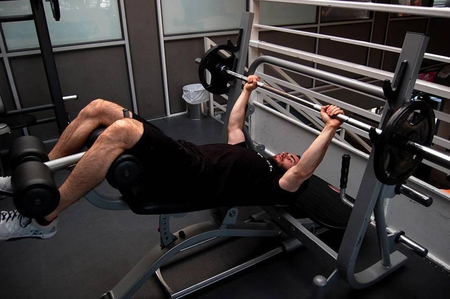 Жим гильотина! офигенное упражнение для мощной груди