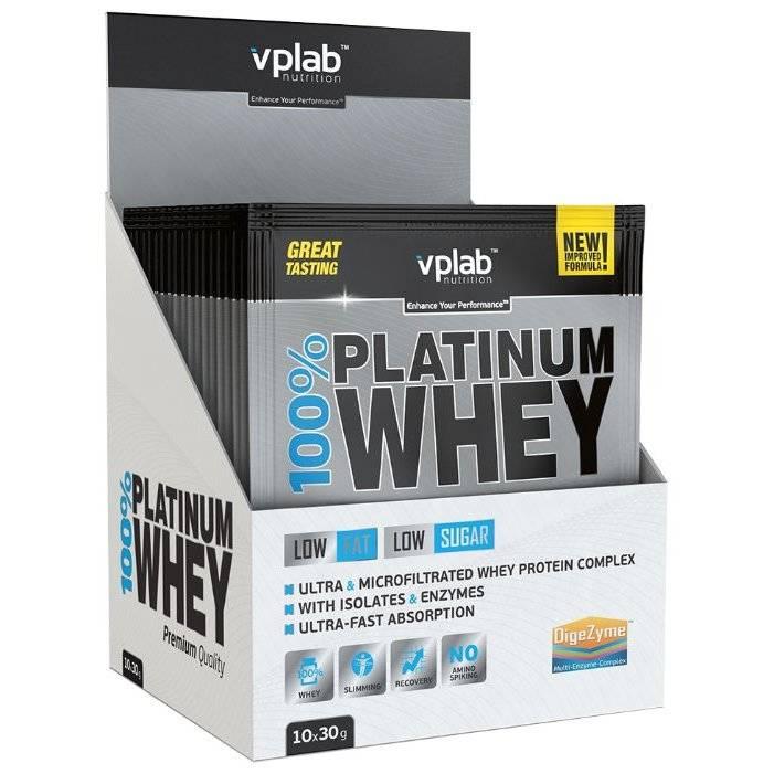 Протеин platinum whey от vplab: особенности, плюсы и минусы, способы приема