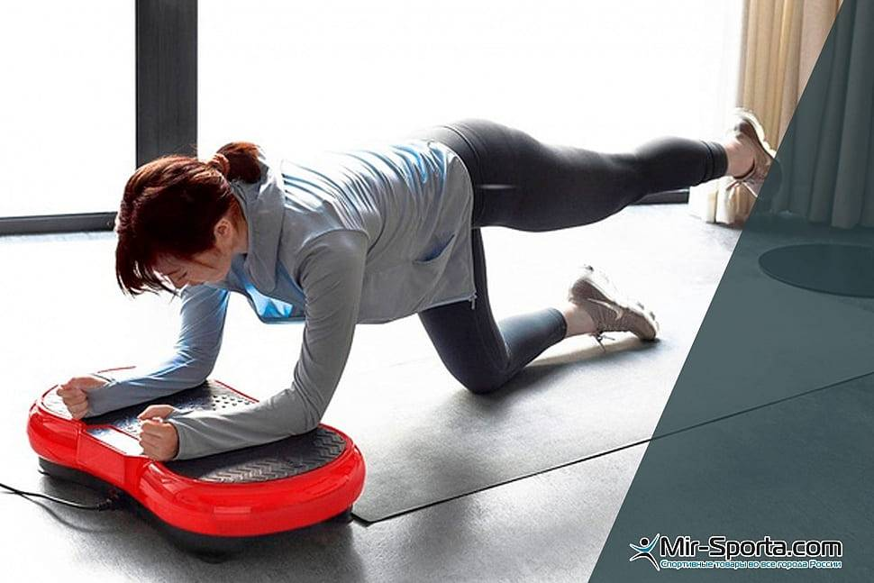 Виброплатформа для похудения: принцип работы тренажера.