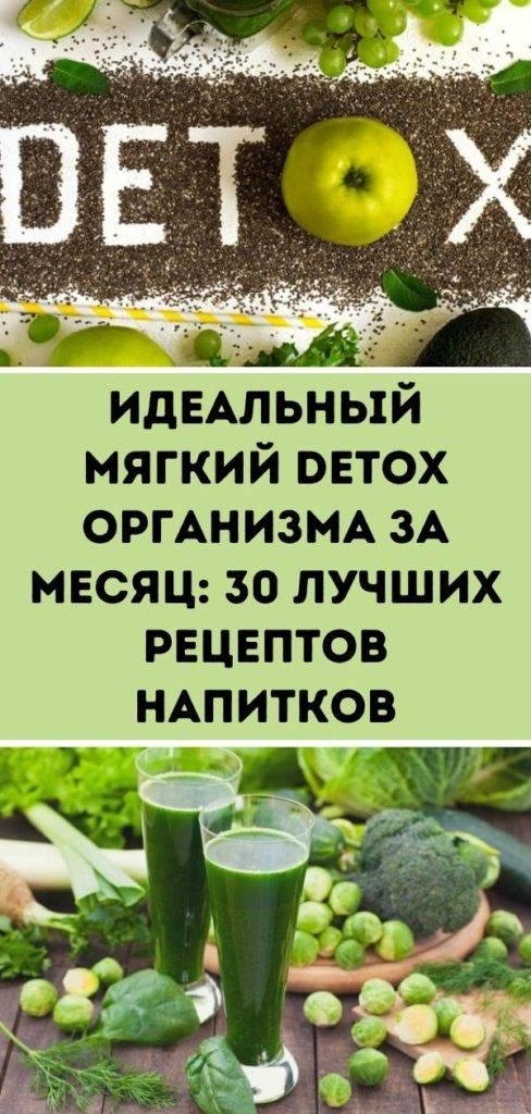 Диета для очищения организма от шлаков и токсинов - безопасное похудение с меню и советами