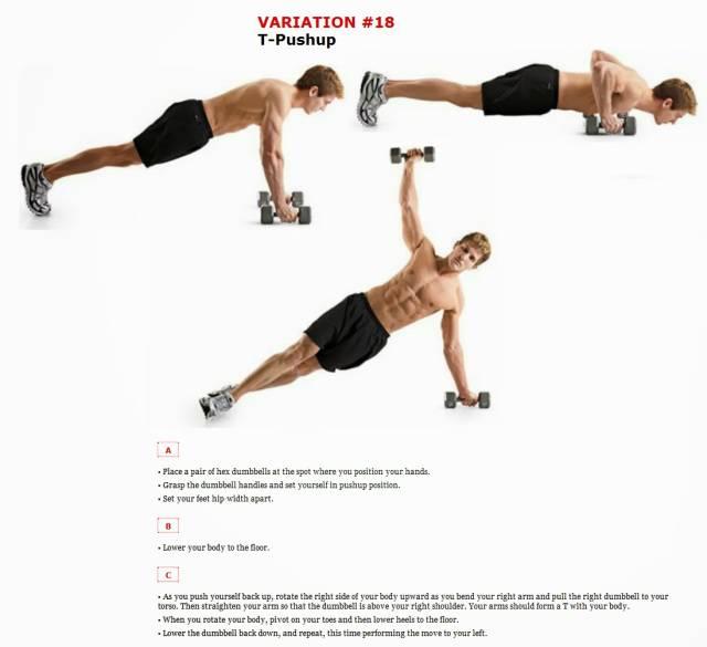 Программа отжиманий на 100 повторений   musclefit