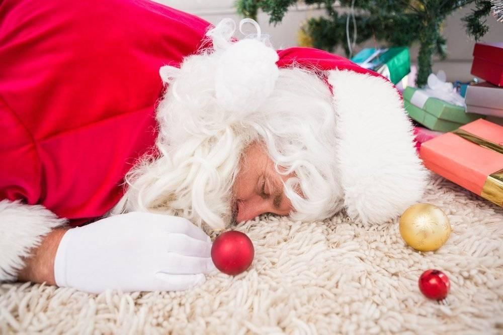 Как помочь себе после новогодней ночи. пошаговые рекомендации