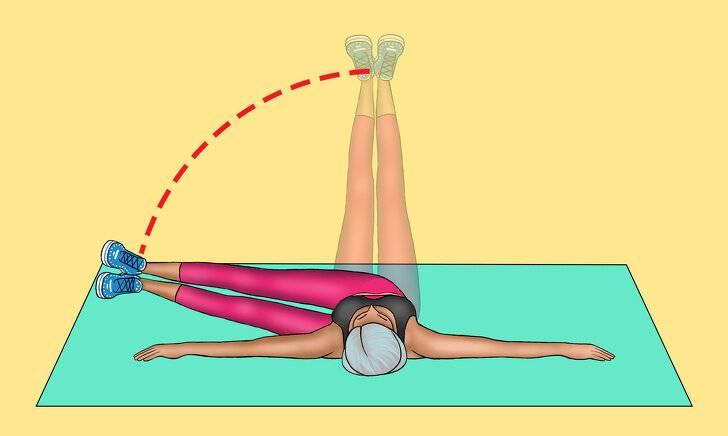 Упражнение мельница - правильная техника выполнения для обвисших боков!