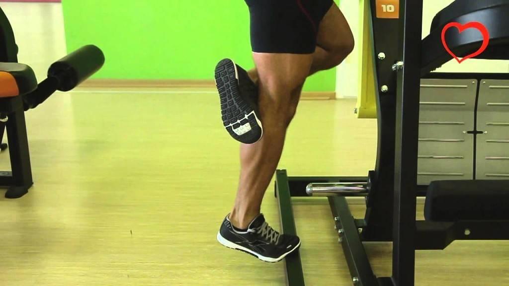 Подъем на носки стоя: техника и варианты выполнения + видео
