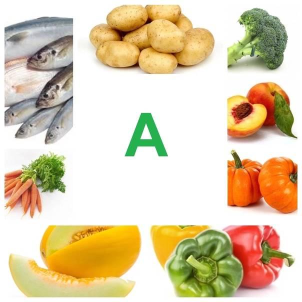 Топ-10 продуктов с высоким содержанием витамина а