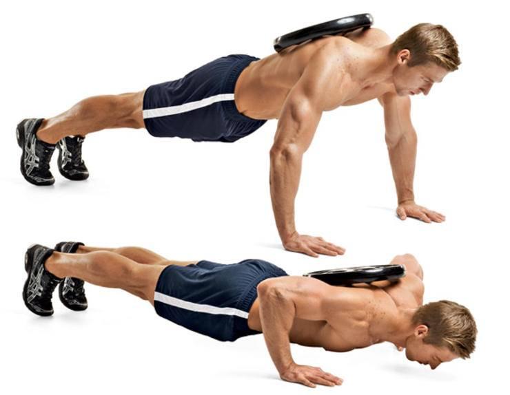 Как накачать грудные мышцы отжиманиями   strong life