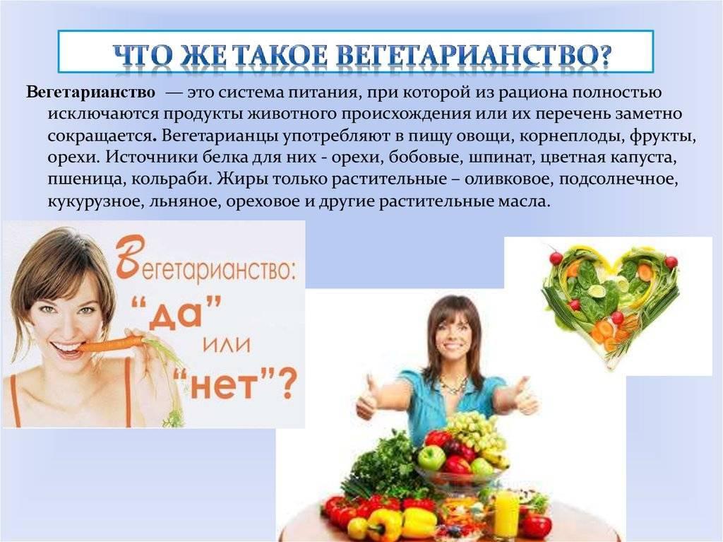 Вегетарианская диета: меню на неделю, список продуктов, рецепты
