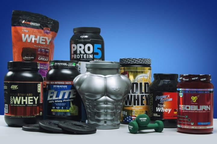 Фирмы и бренды спортивного питания