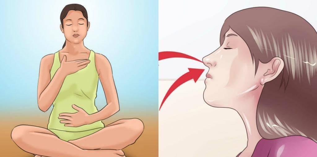 Как правильно дышать при панических атаках?