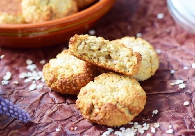 Пп печенье из овсяных хлопьев. овсяное печенье в домашних условиях | здоровое питание