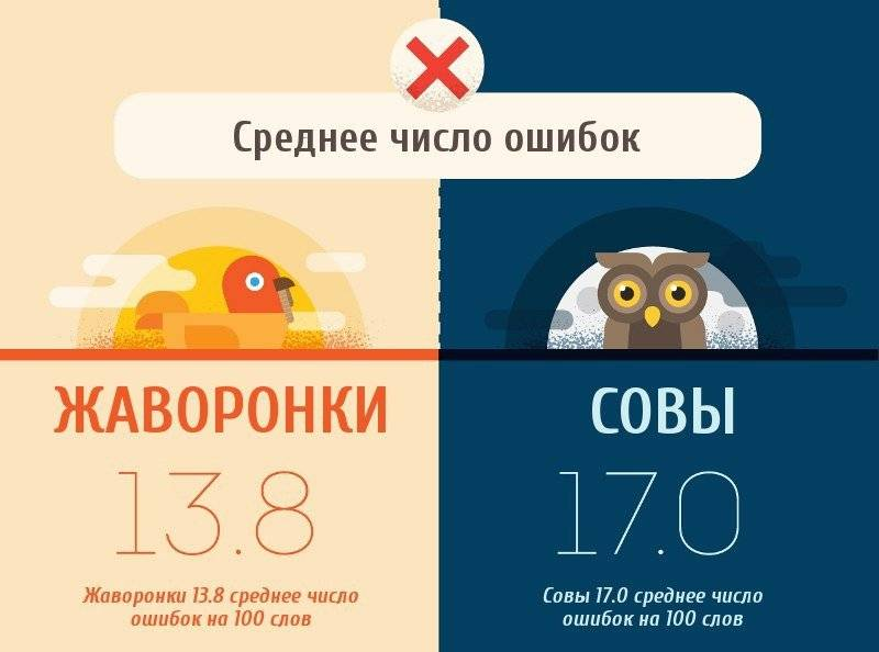 «сова» и «жаворонок»: характеристика, определение хронотипа