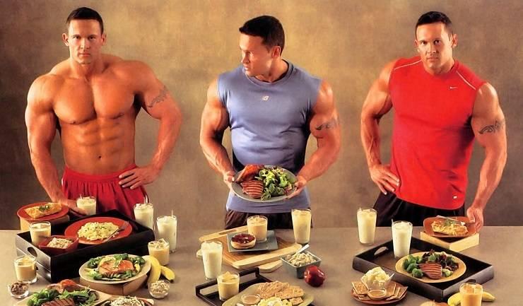 Программа питания для набора мышечной массы на неделю по дням