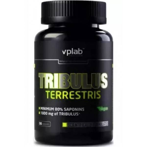 Tribulus terrestris 1200 мг 60 капсул (maxler)
