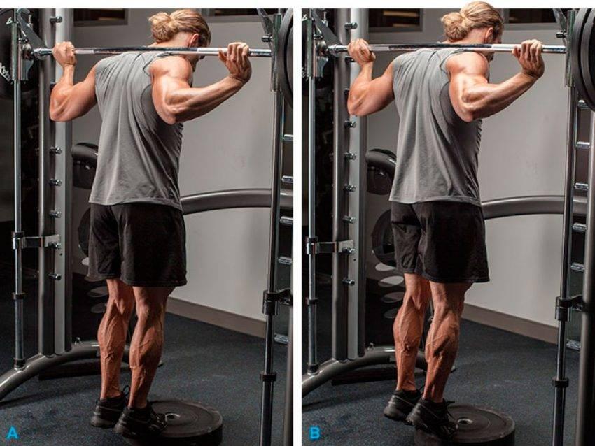 Подъем на носки: варианты стоя и сидя, особенности техники, польза упражнения