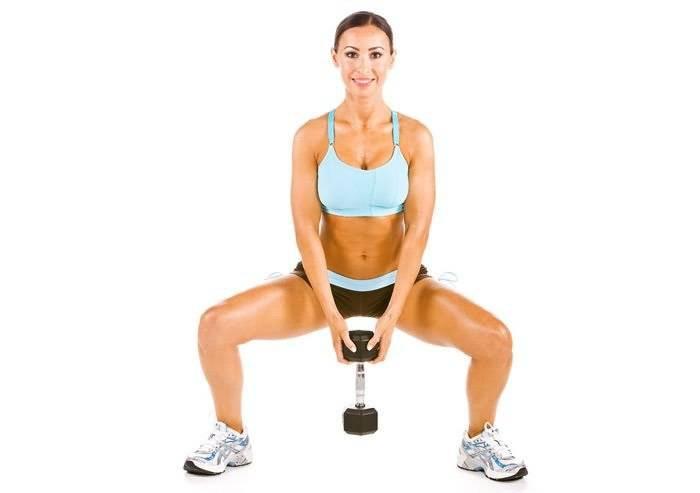 Упражнения с гантелями и штангой